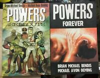 Powers Vol 6 & 7 TPB Graphic Novels Bendis Oeming Marvel Comics Icon