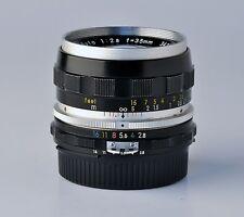 objetivo Nikon 35 f 1:2,8 Ai