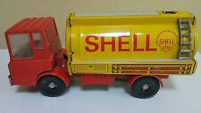VINTAGE SHELL TRUCK TIN TOY FRICTION GERMANY DDR GDR 1970 MS-25 VEB MAN SKODA