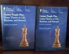 The great courses- Games People Play: Game Theory in Life, Business, and Beyond