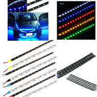 Sticky 3M Foam Tap Flexible LED Strip Lights Waterproof Car Truck Chassis Lights