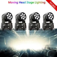 4pcs 70W 7 Led Rgbw Beam Dj Dmx512 Disco Party Moving Head Light Stage Lighting