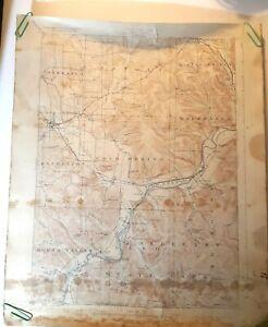 Randolph New York Quadrangle 1923 USGS GEOLOGICAL SURVEY TOPOGRAPHICAL MAP