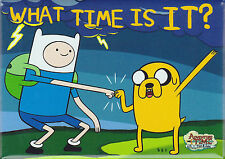 Adventure Time with Finn and Jake ~ What Time Is It? Magnet ~ Licensed
