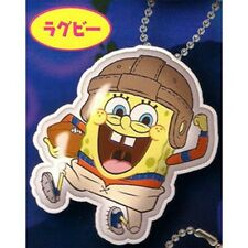 SpongeBob Squarepants Name Tag Reflector Mascot Gashapon - Rugby