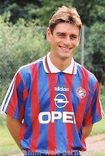 Oliver Kreuzer Bayern München 1995-96 seltenes Foto+3