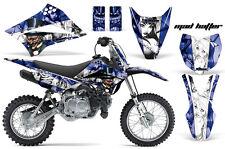 KLX110 Kawasaki Graphic Kit AMR Racing Decal Sticker Kawi Part 2010-2013 HATTER