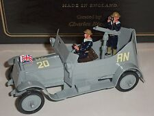 Britains 8925 Premier Ww1 Royal Naval Air Service Armoured Car Toy Soldier Set