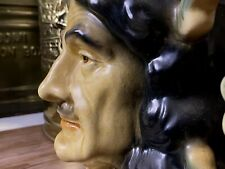 Marvellous Large Kingston Pottery Character Jug Charles II