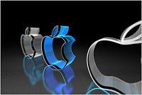 Apple Mac Logo Large Poster Art Print 91x61 cm