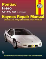 Haynes 79008 Repair Manual for Pontiac Fiero (84-88 (Fits: Pontiac Fiero)