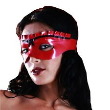 Sexy Latex Eye Masks Party Wear Rubber Unisex Cosplay Costumes Night Club
