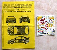 "MAXI MEGANE KIT CAR 24H YPRES RALLYE 1996 BERNARD MUNSTER ""BELGA"" RACING 43"
