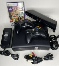New listing Xbox 360 S 4Gb Black Console Model 1439 - Bundle 2 Controllers, Cables & Game