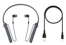 Sony WIC400 Wireless Bluetooth Neckband Earbuds Headphones w/Mic Black