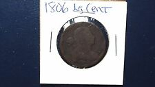 1806 DRAPED BUST LARGE CENT Auction Starts At Just 99 Cents!