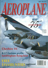 AEROPLANE 4/93 RAF 75th ANNV_DAMBUSTERS SUPPLEMENT_SPITFIRE Mk.24_SANDRINGHAM