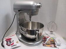 KitchenAid Metallic Chrome Professional 5 Plus 5-Quart Stand Mixer! KV25GOXMC