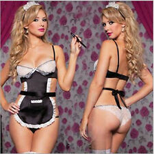 Outfit G-string Cosplay Costume Women Lingerie Fancy Dress Maid