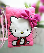 New Hellokitty Soft Mobile I phone Messenger Bag handbag Purse LM12881a4 Pink