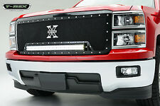 T-REX Torch Series LED Grille 2014 Chevrolet Silverado 1500 6311191 Black