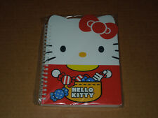 Sanrio Hello Kitty School Supply Kitty Face Die Cut Spiral Notebook Note Pad