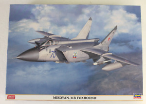 Hasegawa Limited Edition Mikoyan Mig-31B Foxhound in 1/72 2321 ST