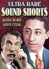 Ultra Rare Sound Shorts, 1929-1932, Good DVD, Andy Clyde, Harry Gribbon, Benny R