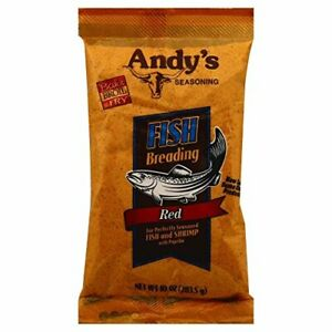 ANDYS, BREADING FISH RED, 10 OZ, (Pack of 6)