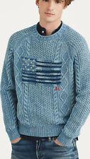 Polo Ralph Lauren Men's Iconic American Flag Sweater