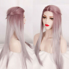 Fabulous Women's Remy Straight Long Hair Full Wigs Lolita Ombre Cosplay Party