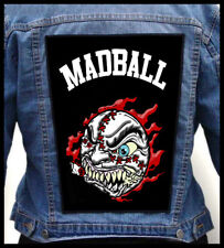 MADBALL --- Giant Backpatch Back Patch / Cro-Mags H2O Walls of Jericho Merauder