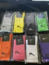 nike socks soild colors
