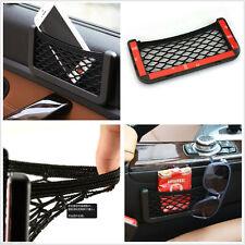Car Tidy Mesh Bag String Storage Net Pocket Phone Holder Organizer Universal
