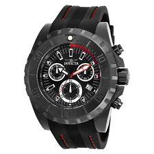 New Mens Invicta 25739 Pro Diver Chronograph Date Silicone Strap Watch
