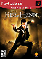 Jet Li: Rise to Honor PS2 New playstation_2