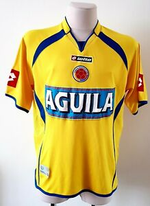 Colombia 2007 - 2009 Home football Lotto shirt size L