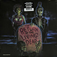 Return Of The Living Dead Original Soundtrack LP Colored Record CRAMPS DAMNED ++