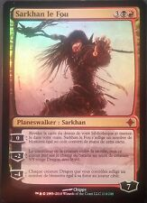 Sarkhan the mad premium/foil vf-French sarkhan the mad-elrazi-magic mtg
