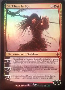 Sarkhan le Fou PREMIUM / FOIL VF - French Sarkhan the Mad - Elrazi - Magic mtg