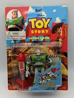 NEW Buzz Lightyear Flying Rocket Action Figure Toy Story Thinkway NIP