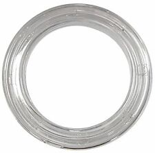 Micron Clear Plastic-Round Curtain Grommet; Plain Washer (Id: 20mm) (12pcs)