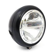 Scheinwerfer HIGHSIDER 7 Zoll LED HD-STYLE Schwarz mit Tagfahrlicht E-geprüft