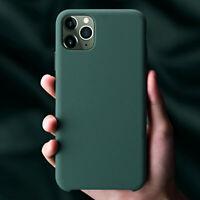COVER per Iphone 11 / Pro Max Custodia Silicone Genuine Slim Interno Microfibra