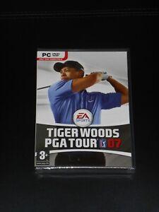 Tiger Woods PGA Tour Golf 07 ENGLISH UK NEW Sealed PC Game (DVD ROM 2007) PAL