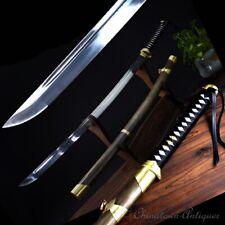 Light cavalry Sabre Samurai Battle Sword Katana Pattern Steel Blade sharp #1252