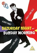DVD:SATURDAY NIGHT AND SUNDAY MORNING - NEW Region 2 UK