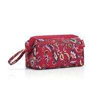 reisenthel travelcosmetic Kulturtasche Tasche Kosmetiktasche Paisley Ruby 4 L