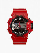 *NEW* CASIO MENS G SHOCK RED BLUETOOTH MIX MUSIC WATCH XL GBA-400-4ADR  RRP£199