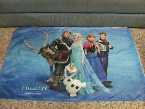Disney Frozen Bedding Pillowcase Cover Zipper Elsa Anna Olaf Kristoff Sven Hans